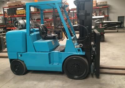 Mitsubishi 15,000 lb. Capacity Forklift