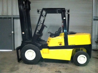 Yale 10,000 lb  Capacity Forklift | Stilwell Equipment